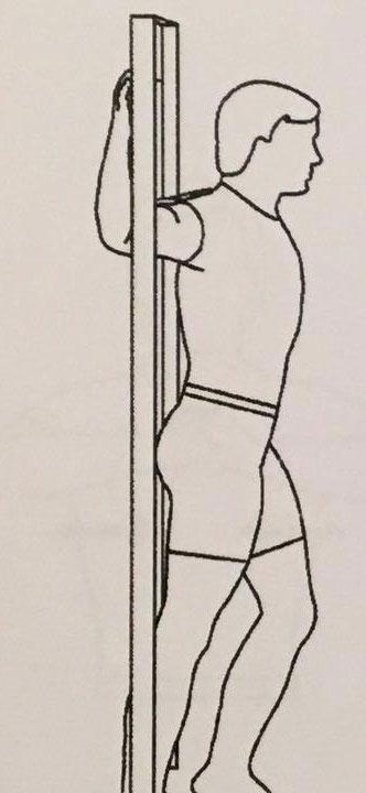 کشش عضلات سینه